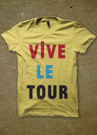 Vive le tour mens t shirt printed mens t shirt of vive le tour tour de