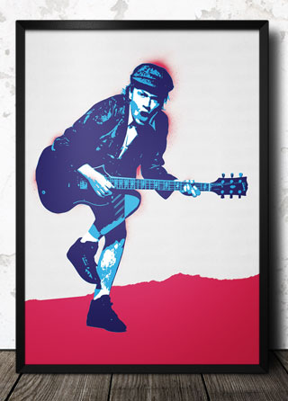ACDC_Angus Young_pop_art_poster_320_framed.jpg