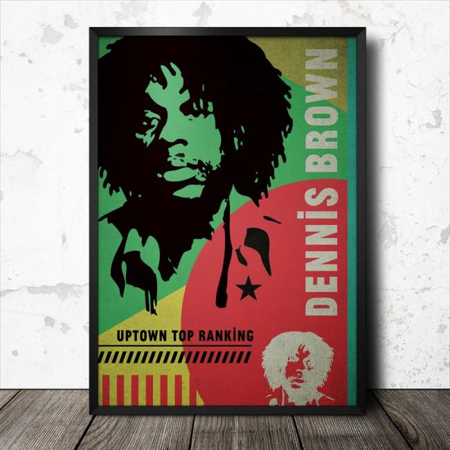 dennis-brown-reggae-poster_1000_framed