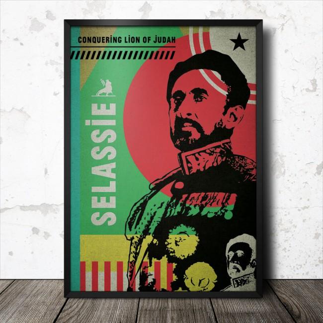 haile-selassie-reggae-poster_1000_framed