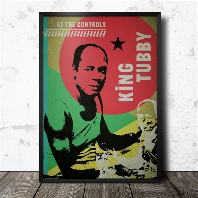 king-tubby-reggae-poster_1000_framed
