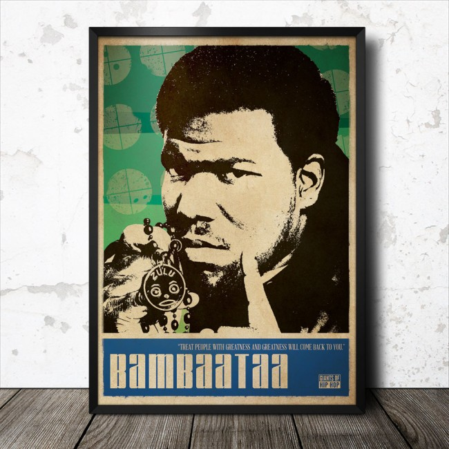 Afrika_Bambaataa_hip_hop_poster_1000_framed