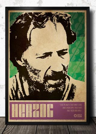 Werner herzog film director poster magik city cool t for Werner herzog t shirt