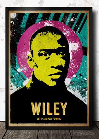 Wiley Grime Pop Art Poster Magik City Cool T Shirts