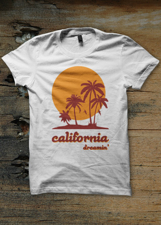 california dreamin womens t shirt magik city cool t shirts reggae funk soul hip hop music. Black Bedroom Furniture Sets. Home Design Ideas