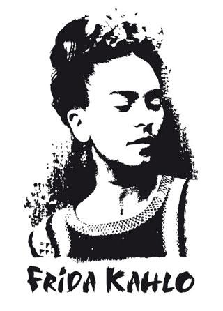 Frida kahlo big picture design canvas jpg