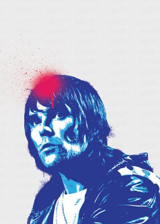 Ian Brown Stone Roses Pop Art Poster Magik City Cool T