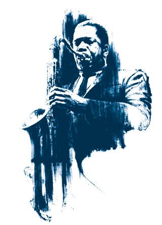 John Coltrane Mens T Shirt Magik City Cool T Shirts