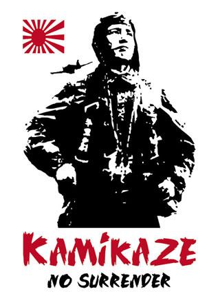 Kamikaze Mens T Shirt