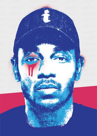 Kendrick Lamar Pop Art Poster Magik City Cool T Shirts