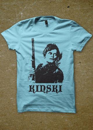 Klaus kinski mens t shirt magik city cool t shirts for Werner herzog t shirt