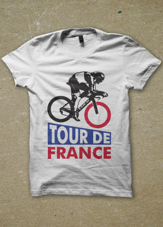 French Blue Womens Shirt