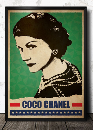 Coco_Chanel_Pop_Art_poster_320_framed.jpg